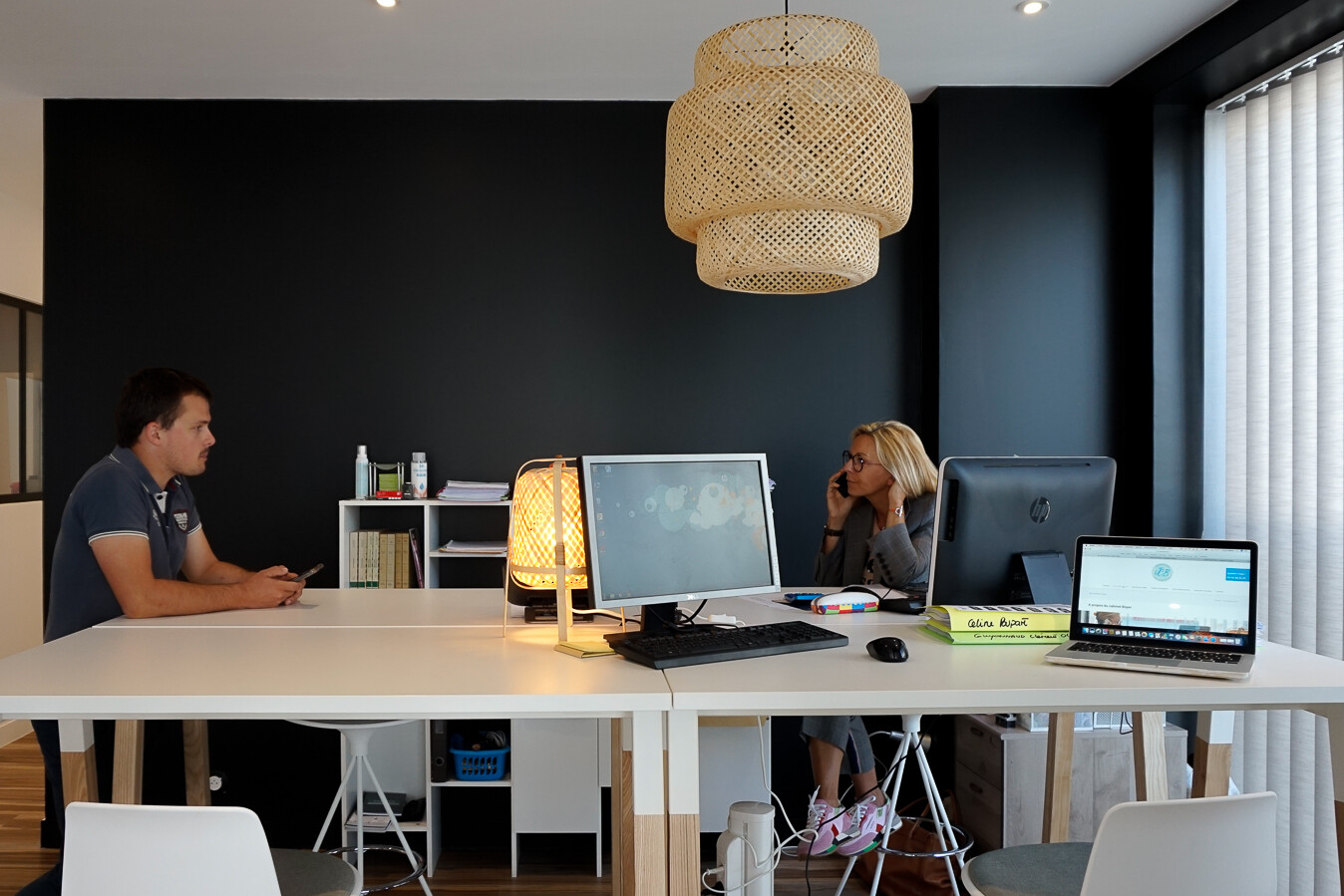 Open Space bureaux Cabinet Boyer, Services financiers à Royan