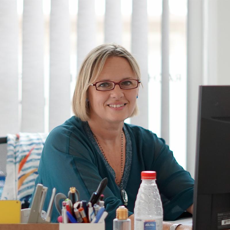 Isabelle Migout, spécialiste rachat de crédits et regroupement au Cabinet financier Boyer à Royan
